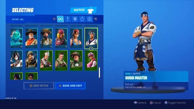 Fortnite: Battle Royale - All 103 of my skins image 9