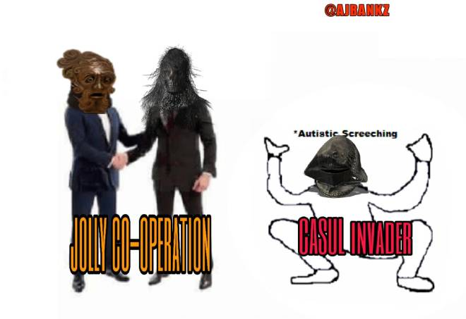 Dark Souls: Memes - Jolly co-operation Vs CASUL invader image 1