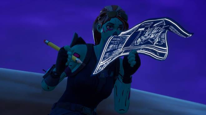 Fortnite: Battle Royale - Queen of the undead... 🧟♀️💕✨(Ghoul Trooper; 1st variant Showcase)  image 2