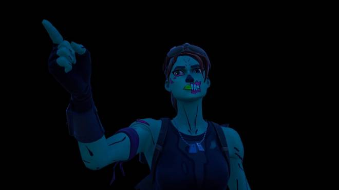 Fortnite: Battle Royale - Queen of the undead... 🧟♀️💕✨(Ghoul Trooper; 1st variant Showcase)  image 22