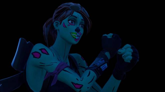 Fortnite: Battle Royale - Queen of the undead... 🧟♀️💕✨(Ghoul Trooper; 1st variant Showcase)  image 27