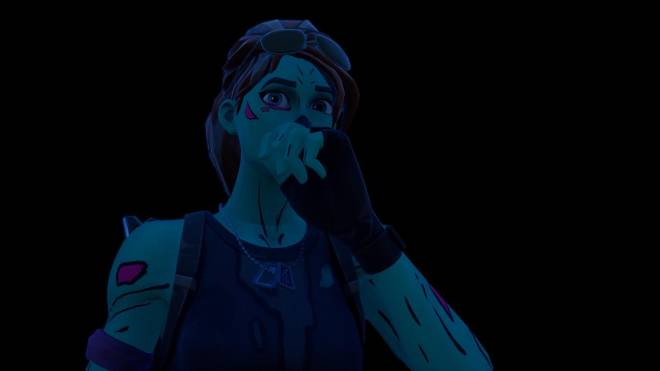 Fortnite: Battle Royale - Queen of the undead... 🧟♀️💕✨(Ghoul Trooper; 1st variant Showcase)  image 13