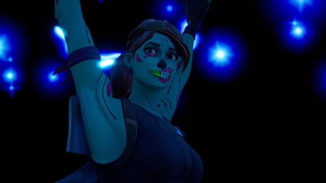 Fortnite: Battle Royale - Queen of the undead... 🧟♀️💕✨(Ghoul Trooper; 1st variant Showcase)  image 20