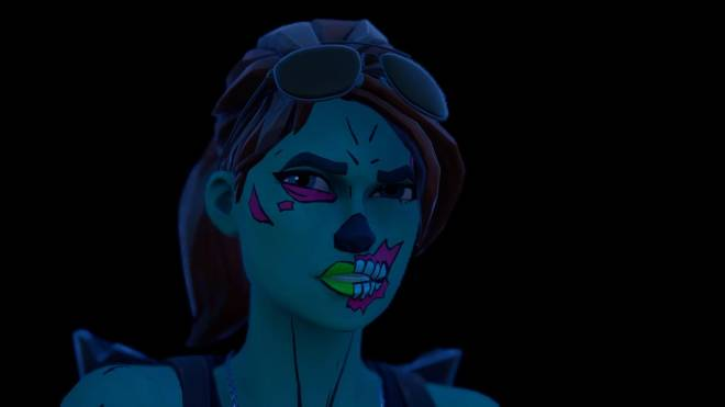 Fortnite: Battle Royale - Queen of the undead... 🧟‍♀️💕✨(Ghoul Trooper; 1st variant Showcase)  image 8