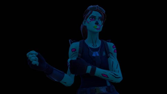 Fortnite: Battle Royale - Queen of the undead... 🧟♀️💕✨(Ghoul Trooper; 1st variant Showcase)  image 5