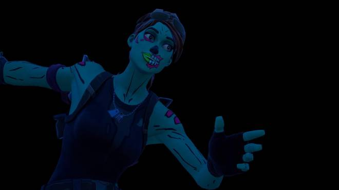 Fortnite: Battle Royale - Queen of the undead... 🧟‍♀️💕✨(Ghoul Trooper; 1st variant Showcase)  image 14