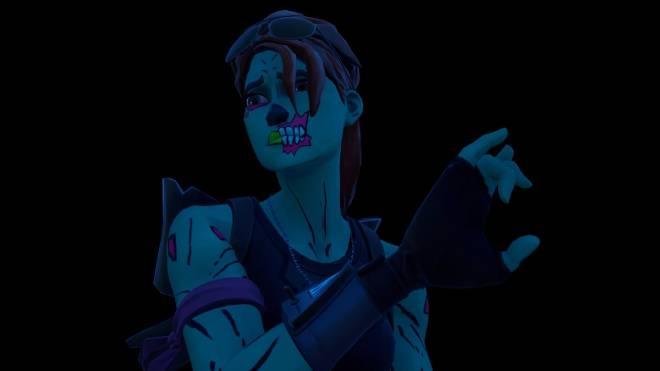 Fortnite: Battle Royale - Queen of the undead... 🧟‍♀️💕✨(Ghoul Trooper; 1st variant Showcase)  image 23