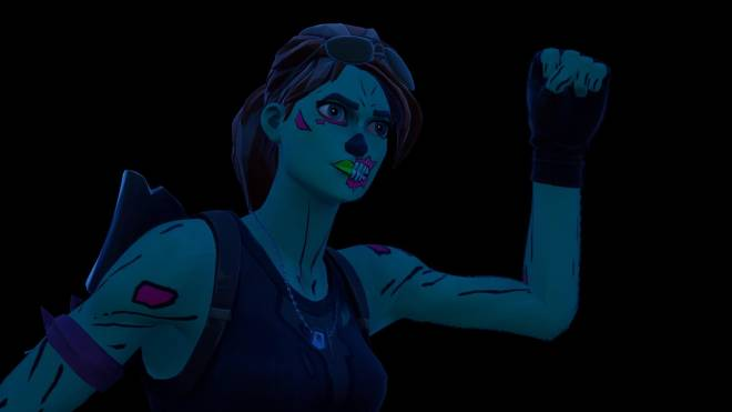Fortnite: Battle Royale - Queen of the undead... 🧟♀️💕✨(Ghoul Trooper; 1st variant Showcase)  image 26