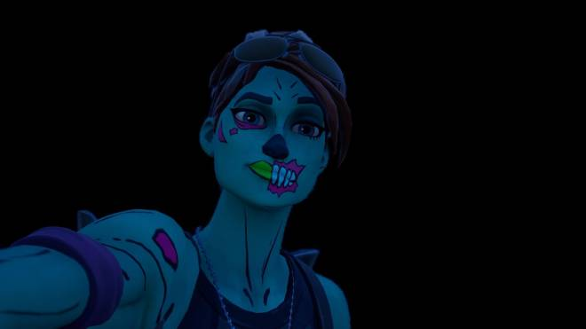 Fortnite: Battle Royale - Queen of the undead... 🧟‍♀️💕✨(Ghoul Trooper; 1st variant Showcase)  image 12