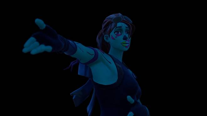 Fortnite: Battle Royale - Queen of the undead... 🧟♀️💕✨(Ghoul Trooper; 1st variant Showcase)  image 9