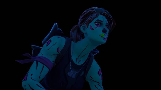 Fortnite: Battle Royale - Queen of the undead... 🧟♀️💕✨(Ghoul Trooper; 1st variant Showcase)  image 11