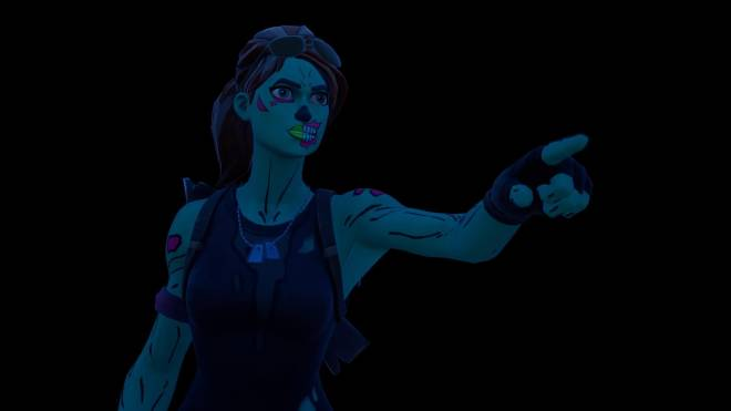 Fortnite: Battle Royale - Queen of the undead... 🧟‍♀️💕✨(Ghoul Trooper; 1st variant Showcase)  image 4