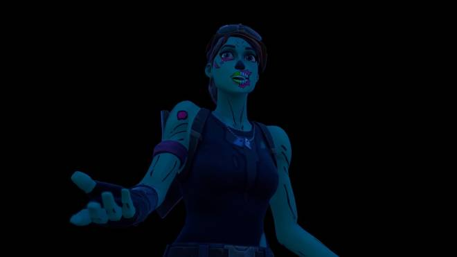 Fortnite: Battle Royale - Queen of the undead... 🧟♀️💕✨(Ghoul Trooper; 1st variant Showcase)  image 18