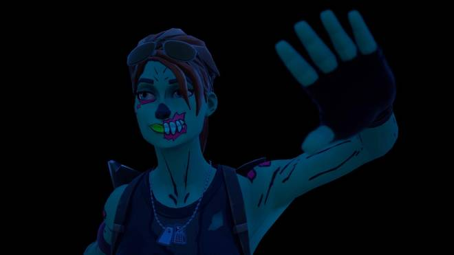 Fortnite: Battle Royale - Queen of the undead... 🧟‍♀️💕✨(Ghoul Trooper; 1st variant Showcase)  image 21