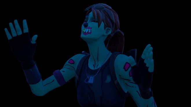 Fortnite: Battle Royale - Queen of the undead... 🧟♀️💕✨(Ghoul Trooper; 1st variant Showcase)  image 15