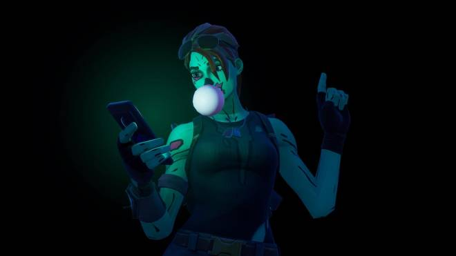 Fortnite: Battle Royale - Queen of the undead... 🧟♀️💕✨(Ghoul Trooper; 1st variant Showcase)  image 7