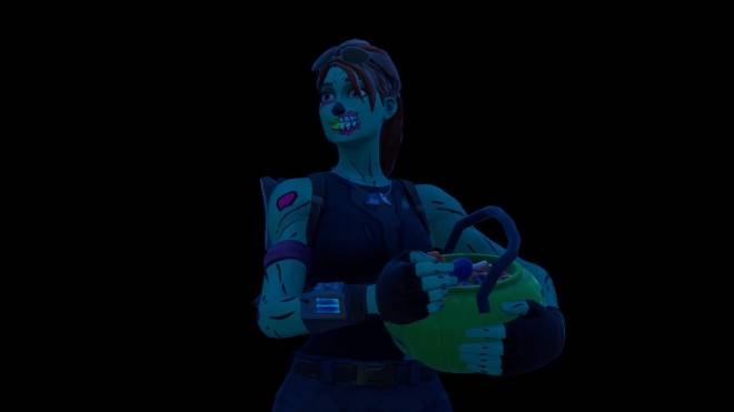 Fortnite: Battle Royale - Queen of the undead... 🧟♀️💕✨(Ghoul Trooper; 1st variant Showcase)  image 24