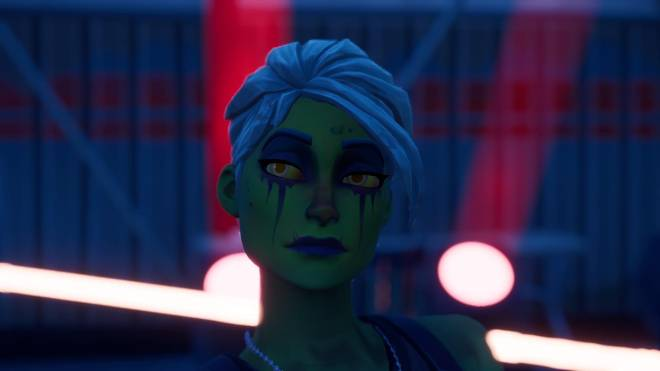 Fortnite: Battle Royale - Drop Dead Gorgeous... 🧟‍♀️💕✨(Ghoul Trooper; 2nd variant Showcase)  image 9