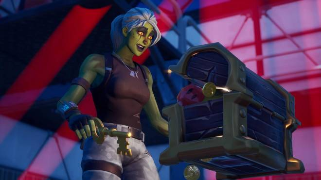 Fortnite: Battle Royale - Drop Dead Gorgeous... 🧟‍♀️💕✨(Ghoul Trooper; 2nd variant Showcase)  image 18