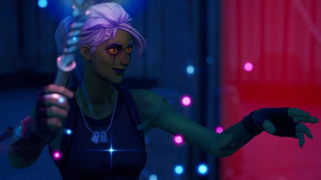 Fortnite: Battle Royale - Drop Dead Gorgeous... 🧟‍♀️💕✨(Ghoul Trooper; 2nd variant Showcase)  image 7