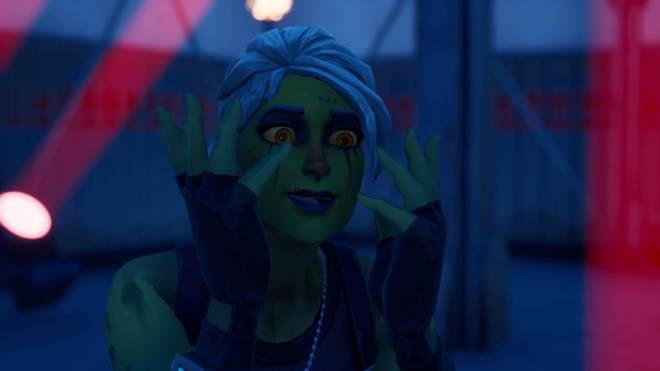 Fortnite: Battle Royale - Drop Dead Gorgeous... 🧟‍♀️💕✨(Ghoul Trooper; 2nd variant Showcase)  image 6