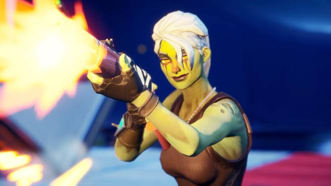 Fortnite: Battle Royale - Drop Dead Gorgeous... 🧟‍♀️💕✨(Ghoul Trooper; 2nd variant Showcase)  image 22