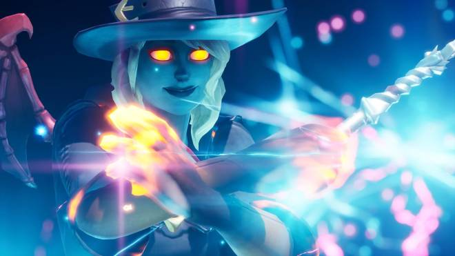 Fortnite: Battle Royale - Spicy Witchcraft... 🧙🏽♀️🔥💕✨(Elmira; Fire Variant Showcase)  image 12