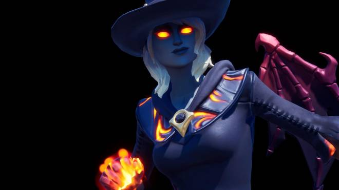 Fortnite: Battle Royale - Spicy Witchcraft... 🧙🏽‍♀️🔥💕✨(Elmira; Fire Variant Showcase)  image 14
