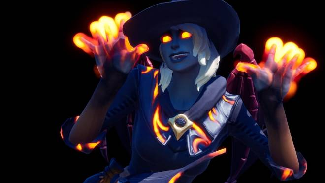 Fortnite: Battle Royale - Spicy Witchcraft... 🧙🏽‍♀️🔥💕✨(Elmira; Fire Variant Showcase)  image 19