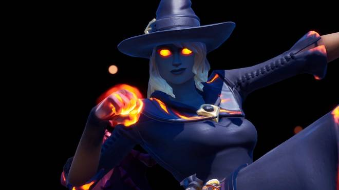 Fortnite: Battle Royale - Spicy Witchcraft... 🧙🏽‍♀️🔥💕✨(Elmira; Fire Variant Showcase)  image 20