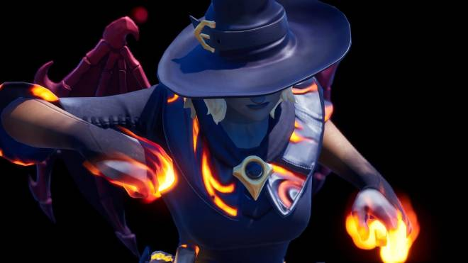 Fortnite: Battle Royale - Spicy Witchcraft... 🧙🏽♀️🔥💕✨(Elmira; Fire Variant Showcase)  image 22