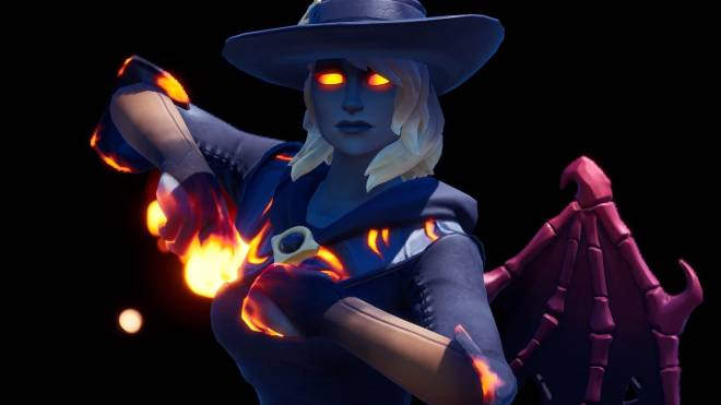 Fortnite: Battle Royale - Spicy Witchcraft... 🧙🏽♀️🔥💕✨(Elmira; Fire Variant Showcase)  image 28