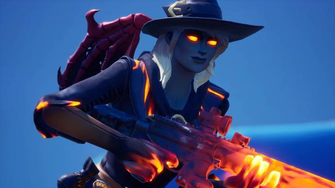 Fortnite: Battle Royale - Spicy Witchcraft... 🧙🏽‍♀️🔥💕✨(Elmira; Fire Variant Showcase)  image 3