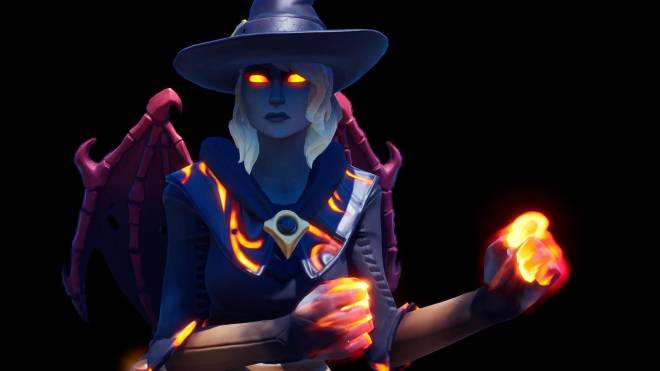 Fortnite: Battle Royale - Spicy Witchcraft... 🧙🏽‍♀️🔥💕✨(Elmira; Fire Variant Showcase)  image 6
