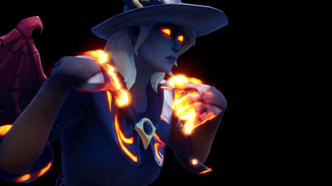 Fortnite: Battle Royale - Spicy Witchcraft... 🧙🏽‍♀️🔥💕✨(Elmira; Fire Variant Showcase)  image 7