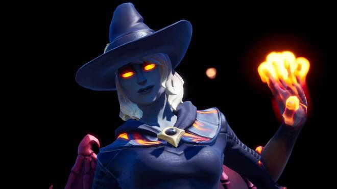 Fortnite: Battle Royale - Spicy Witchcraft... 🧙🏽♀️🔥💕✨(Elmira; Fire Variant Showcase)  image 4