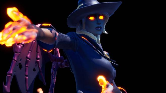 Fortnite: Battle Royale - Spicy Witchcraft... 🧙🏽‍♀️🔥💕✨(Elmira; Fire Variant Showcase)  image 10