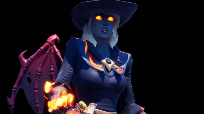 Fortnite: Battle Royale - Spicy Witchcraft... 🧙🏽‍♀️🔥💕✨(Elmira; Fire Variant Showcase)  image 29