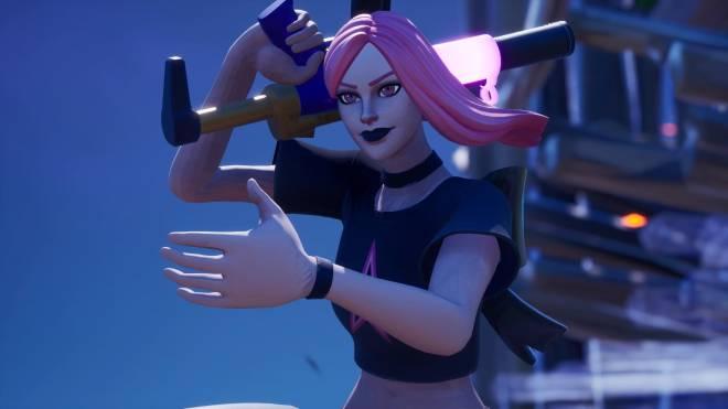 Fortnite: Battle Royale - Edgy but cute...👩🎤💕✨(Haze Showcase)  image 3
