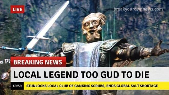 Dark Souls: Memes - Giant dad memes are the best image 3
