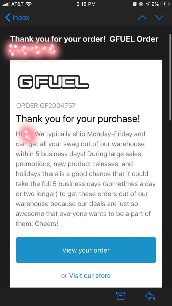 G Fuel: General - i caved in... image 2