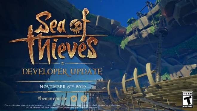 Sea of Thieves: General - Developer Update • November 6th 2019 image 2