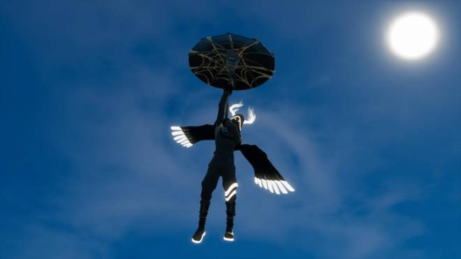 Fortnite: Battle Royale - Angel of Death: Perfect Shadow Showcase image 4