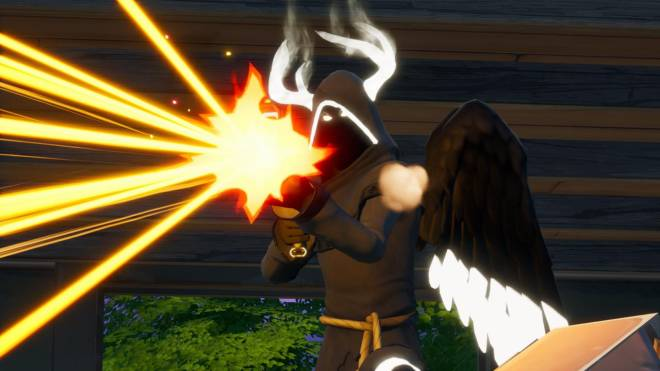 Fortnite: Battle Royale - Angel of Death: Perfect Shadow Showcase image 14