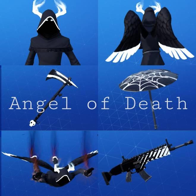 Fortnite: Battle Royale - Angel of Death: Perfect Shadow Showcase image 19
