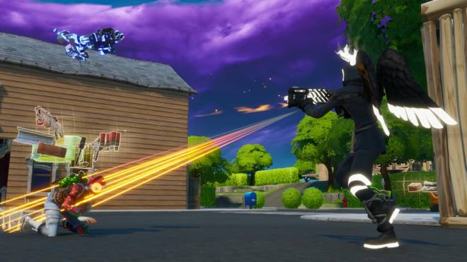 Fortnite: Battle Royale - Angel of Death: Perfect Shadow Showcase image 10