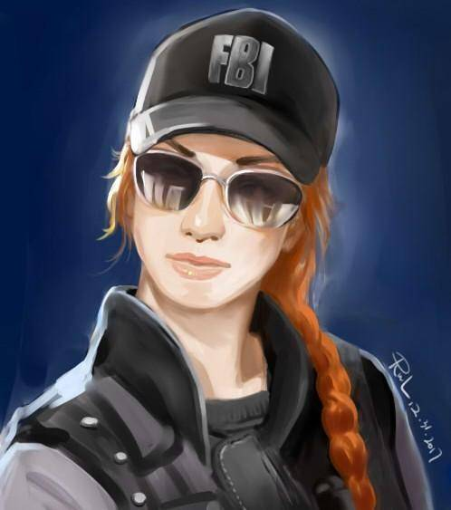 Rainbow Six: Art - Ash Artwork (Not Mine) image 1