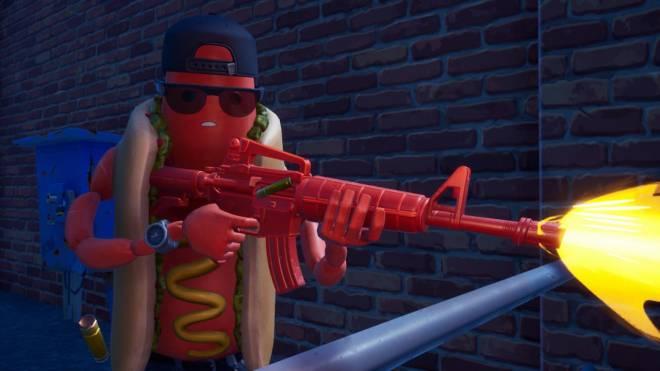 Fortnite: Battle Royale - Hot Dog! The Brat Showcase 🌭 image 5