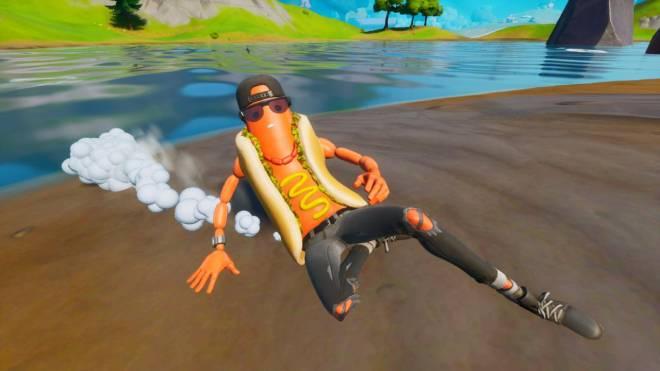 Fortnite: Battle Royale - Hot Dog! The Brat Showcase 🌭 image 11