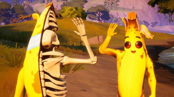 Fortnite: Battle Royale - ZomB-Nana: Peely Bone Showcase w/ Spacey! image 8